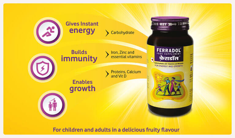 Ferradol Food Supplement